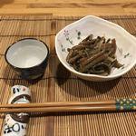 幸子のお茶漬 - 料理写真:お通し/ぜんまい煮