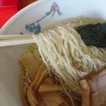 はなまる亭 - 細麺です