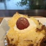 ママのえらんだ元町ケーキ - ふわふわスポンジ生地と、優しい甘さの生クリーム、苺がアクセント!(2018.7.7)