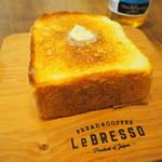 88847427 - 厚切りバタートースト