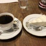 喫茶去 快生軒 - ブレンドコーヒーとレアチーズケーキで850円