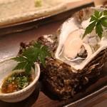 鮨みやもと - 徳島 岩ガキ