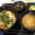 88848901 - 真鯛のテリヤキマヨ丼