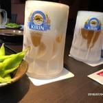 鍋酒屋 中洲亭 - ギンギンに冷えた生ビール