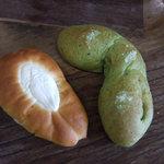 南ヶ丘牧場 喫茶 こまくさ - 料理写真:購入したパン