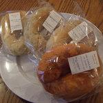 ベーグルクーボー - 料理写真:購入したベーグル