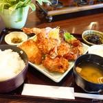コモレビ - 料理写真:2018年3月 ミックスフライ定食【1300円】