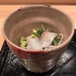 しおや - 炙り蛸と白菜のサラダ