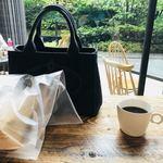 ル・シュクレクール - 店内でもテラス席でも頂けます(^O^)    タップリのコーヒー。