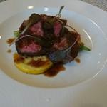 フランス料理 Fleurir - 料理写真:知多牛「響」のステーキ