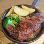 肉バルGABUTTO - ハラミステーキ