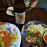 アジアン キッチン カフェ ももふく - ビアシン600円