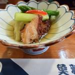 魚雅 - 料理写真:お通しの煮浸し