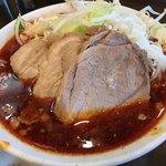 麺屋 歩夢 - 【2018.7.3】真っ赤っかなつけ汁。
