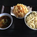 馬荷亭 よし - 料理写真:肉汁うどん大