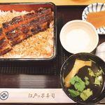 江戸ッ子寿司 - 料理写真:うな重(鰻一匹)