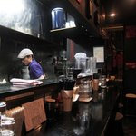 麺屋33 - カウンター席(承諾済み)