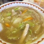 東来軒 - チャンポン麺600円