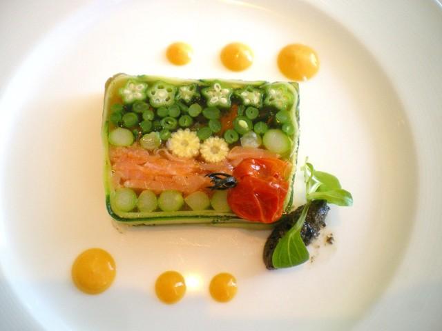 センティール・ラ・セゾン函館山 - 春野菜のテりーヌ