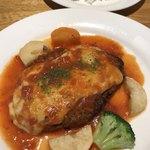 レストラン 蔵人 - 料理写真:☆ イタリアンハンバーグステーキランチ¥1180(税込み)