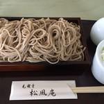 松風庵 - 料理写真:もりそばです。
