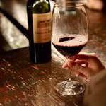bar 松虎 - 赤ワインが似合うねぇ