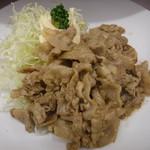 角常食堂 - 料理写真:とんばら生姜焼定食2