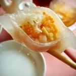ル・パルク - 蟹と海老の餃子