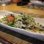 志木葉 - 地野菜と釜揚げしらすのゆず胡椒サラダ