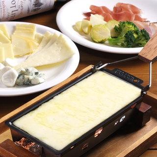 気分はハイジ!トロトロ焼きチーズを楽しもう!