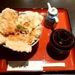 はげ天 - はげ天 本店@帯広 豚天丼・6枚(950円)