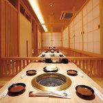 炭火焼肉 なかむら  - 掘りごたつ式の和室は最大70名様まで宴会可能