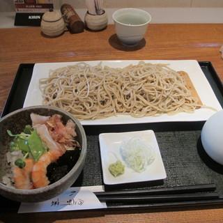 分上野藪 かねこ - 料理写真:おろしそば950円