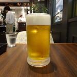 スワン食堂 - モルツ・大(800円)