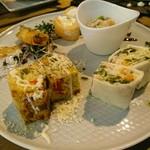 鮭バル SalmonBear - 前菜おまかせ盛り合わせ(1080円)