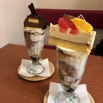 MAMAN - ケーキパフェ(850円税抜)