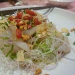 里弄 - 舞阪コチのお刺身サラダ