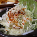 ヤマダサンド - セットのサラダ。