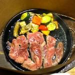 いしがまやハンバーグ - 焼く前の肉