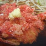ふじ - 天ぷら小1ヶそば(340円)