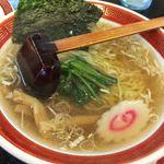 中華そば 浜田屋 - 料理写真:「Eセット(あっさりラーメン、餃子、炒飯)」1080円