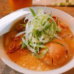 もつ焼き 幸太 - 料理写真:♦︎煮込み ハーフ 243円 ♦︎煮たまご 108円