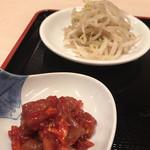 ムグンファ - チャンジャとモヤシナムル