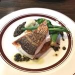 SUGIE - メインのお魚料理