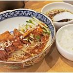 寿限無 担々麺 - 寿限無涼麺 980円 辛さと酸味のある一杯です。