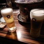 味覚園 - ビールで乾杯