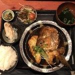 むちゃく - 魚のアラ炊き定食=850円