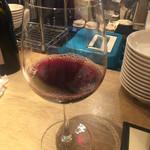 赤白 - 赤ワイン クレアシオン ¥380(税別)。