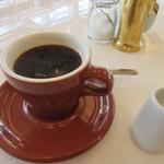 bills 福岡 - 最後はコーヒーをいただいて優雅な朝食をしばらく楽しませていただきました。