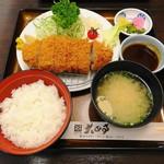 大正亭 - ロースカツ定食 1320円